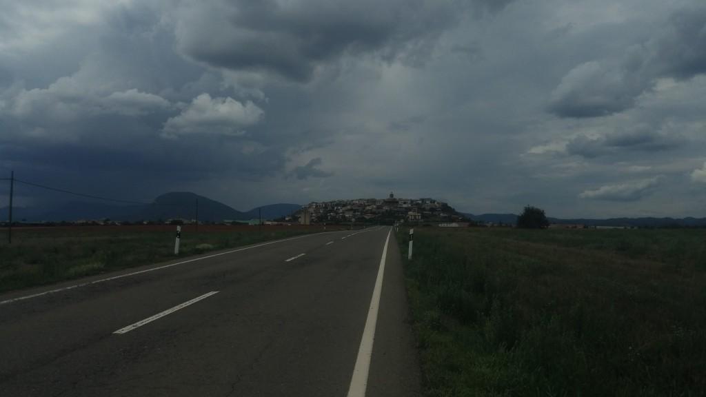 Dorf auf Hügel :-P
